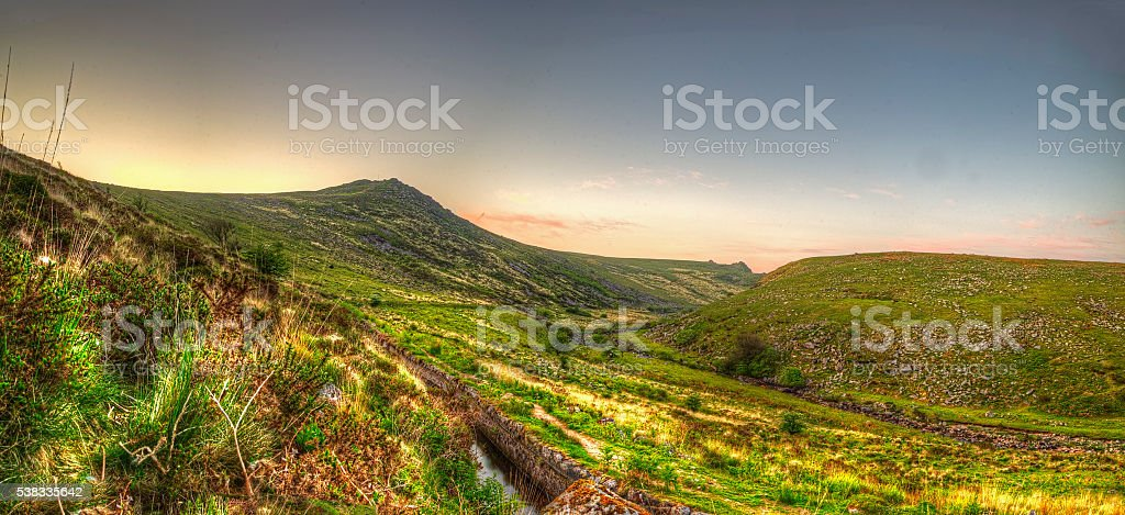 Tavy Cleave stock photo