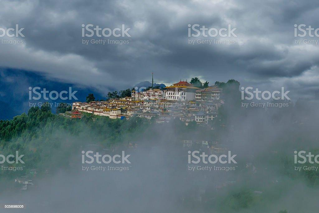 Tawang Monastery, Arunachal Pradesh, India. stock photo