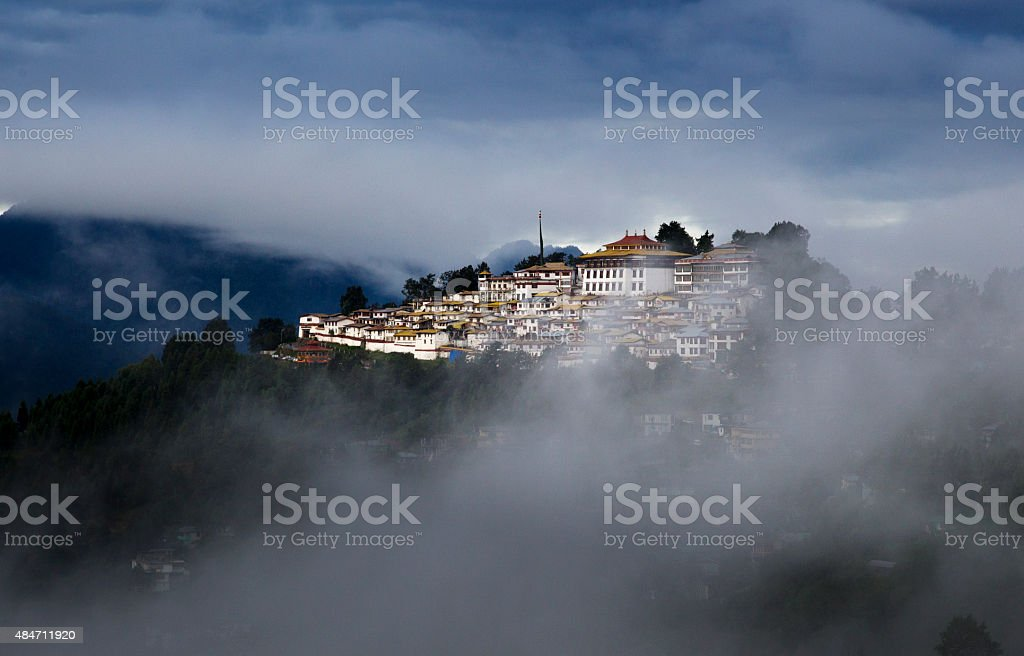 Tawang Monastery, Arunachal Pradesh stock photo