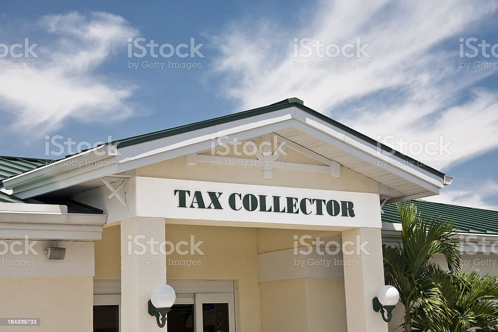 Tax Collector royalty-free stock photo