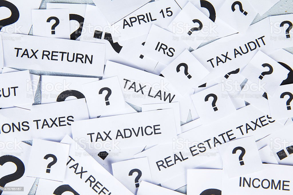 Tax concept royalty-free stock photo