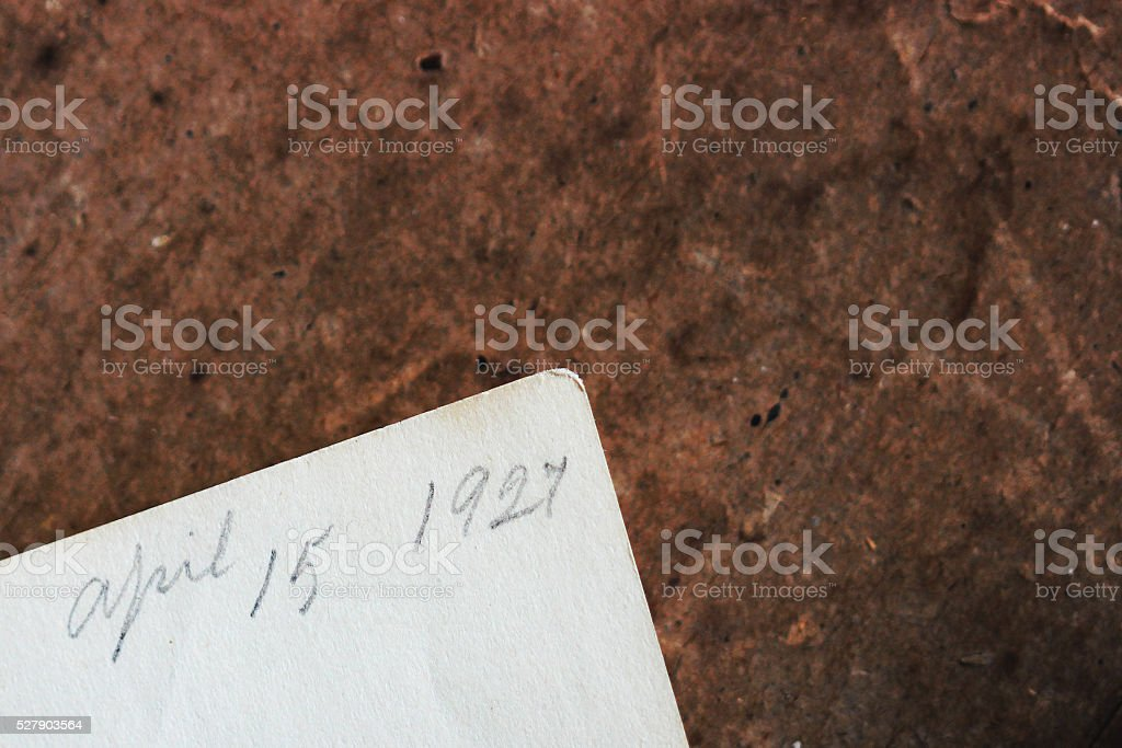 Tax Day 1927 stock photo