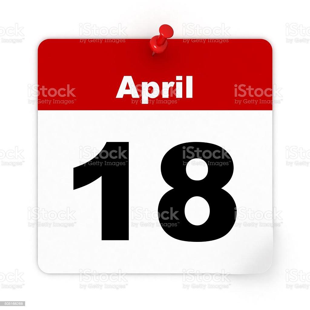 Tax day calendar stock photo