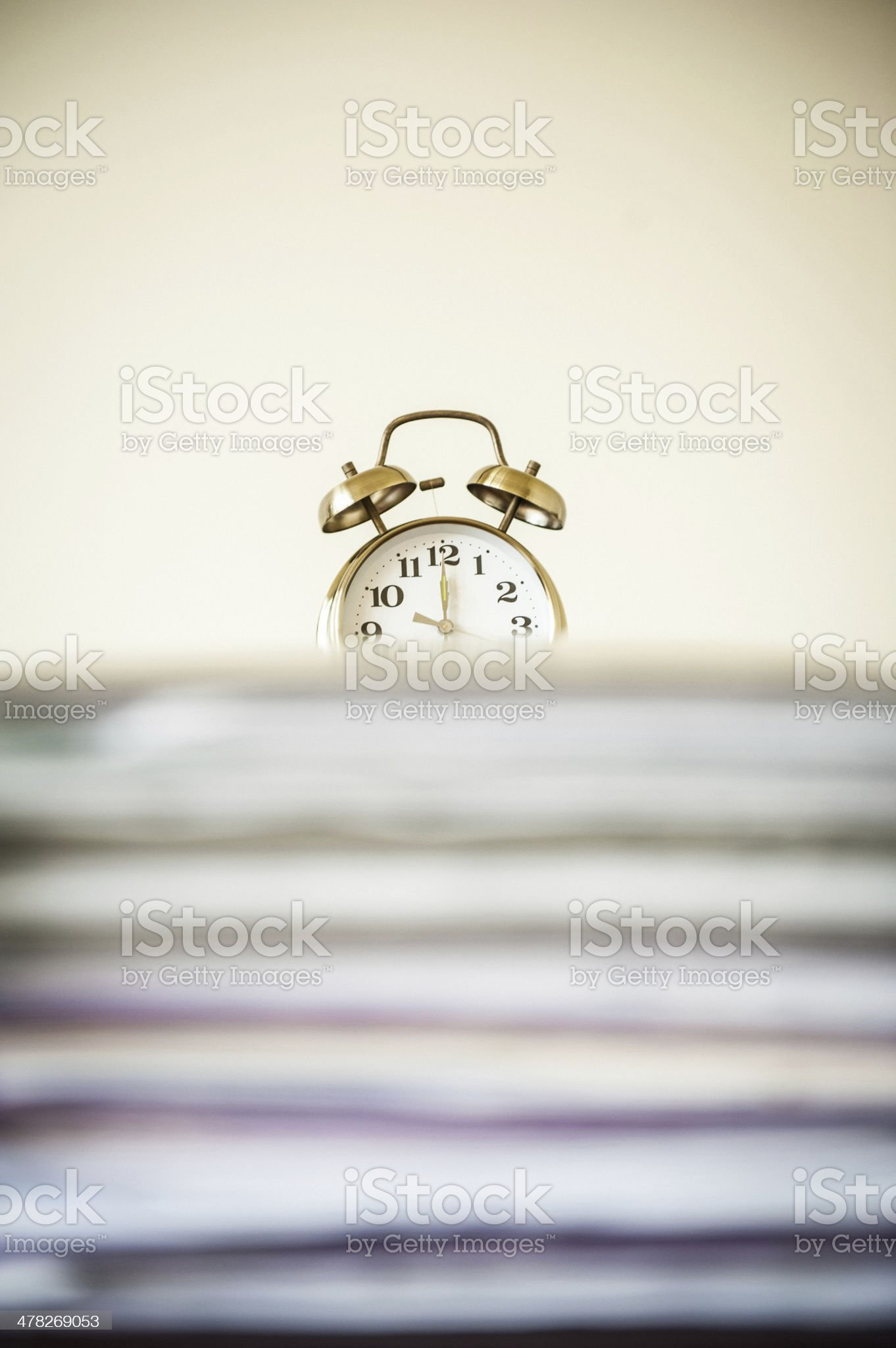 Tax deadline royalty-free stock photo