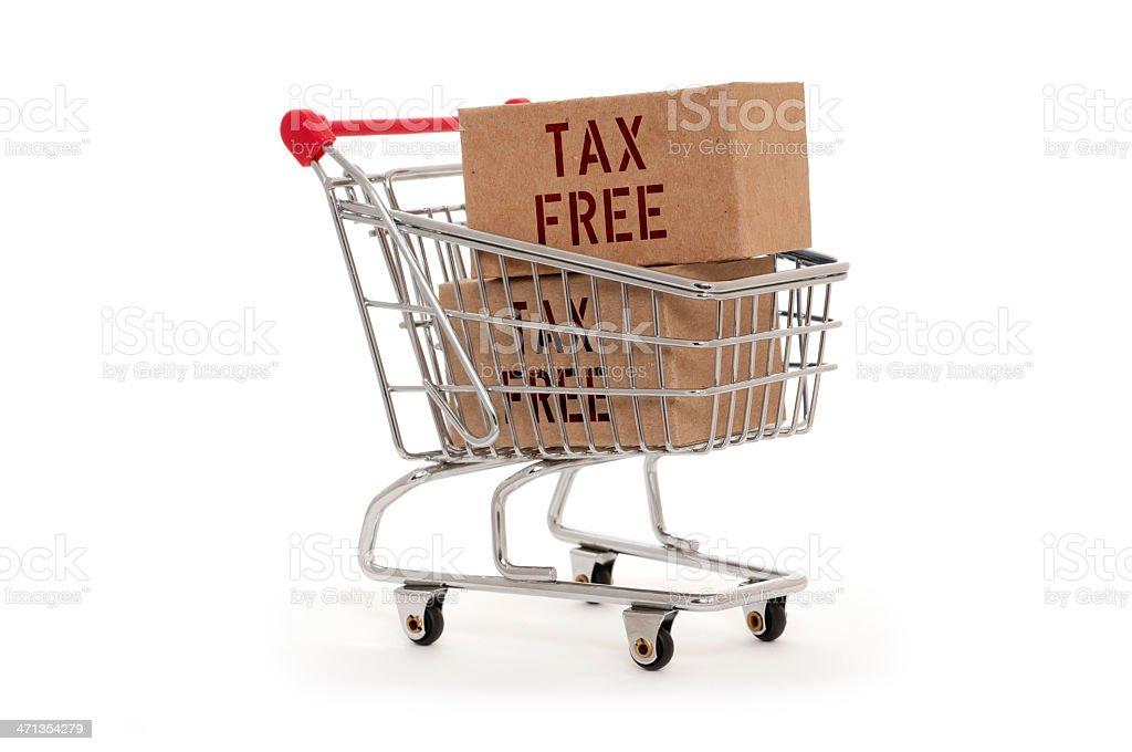 Tax Free royalty-free stock photo
