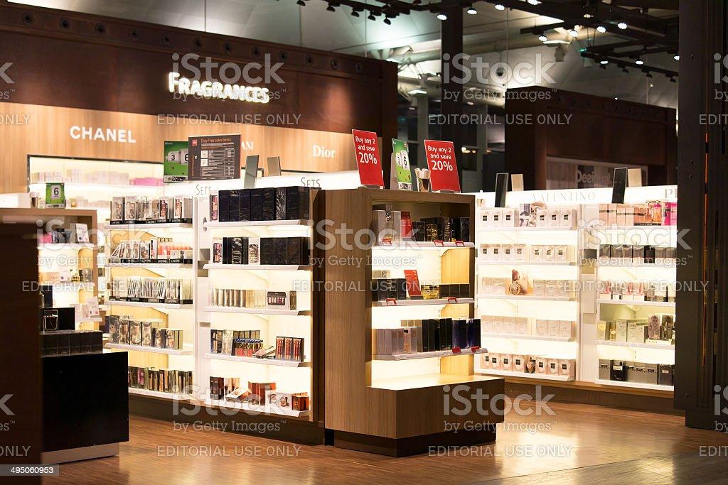 Tax Free shopping stock photo