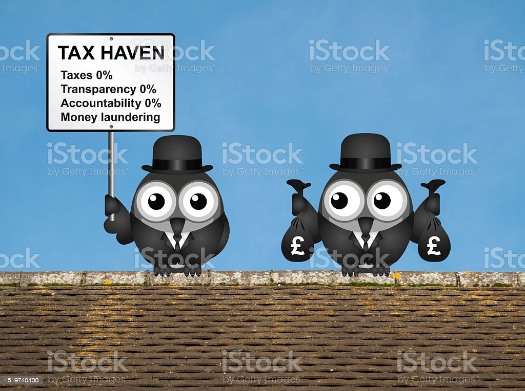 Tax Haven stock photo