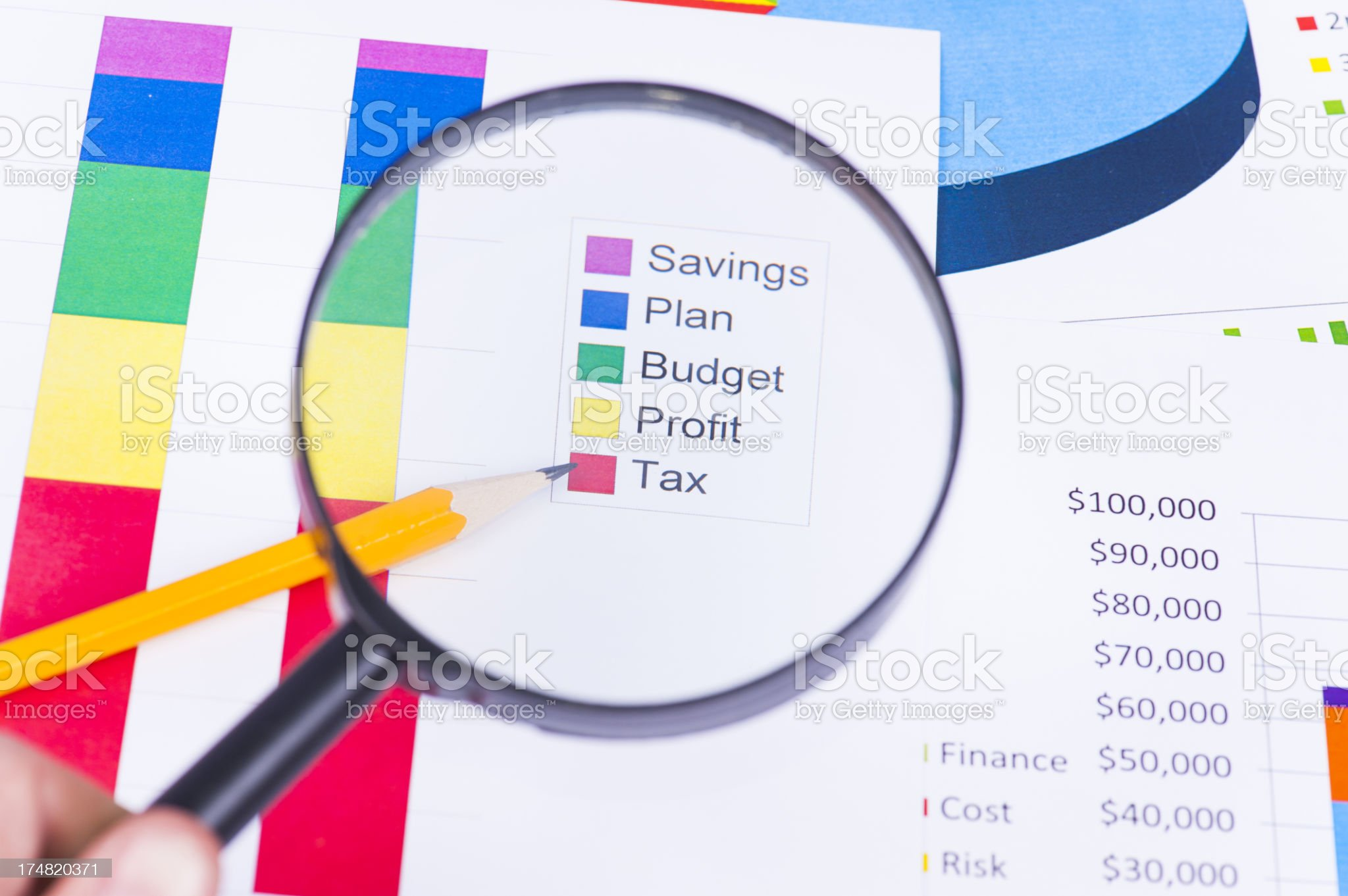Tax is real important in business royalty-free stock photo