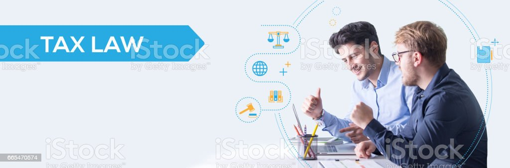 Tax Law Concept stock photo