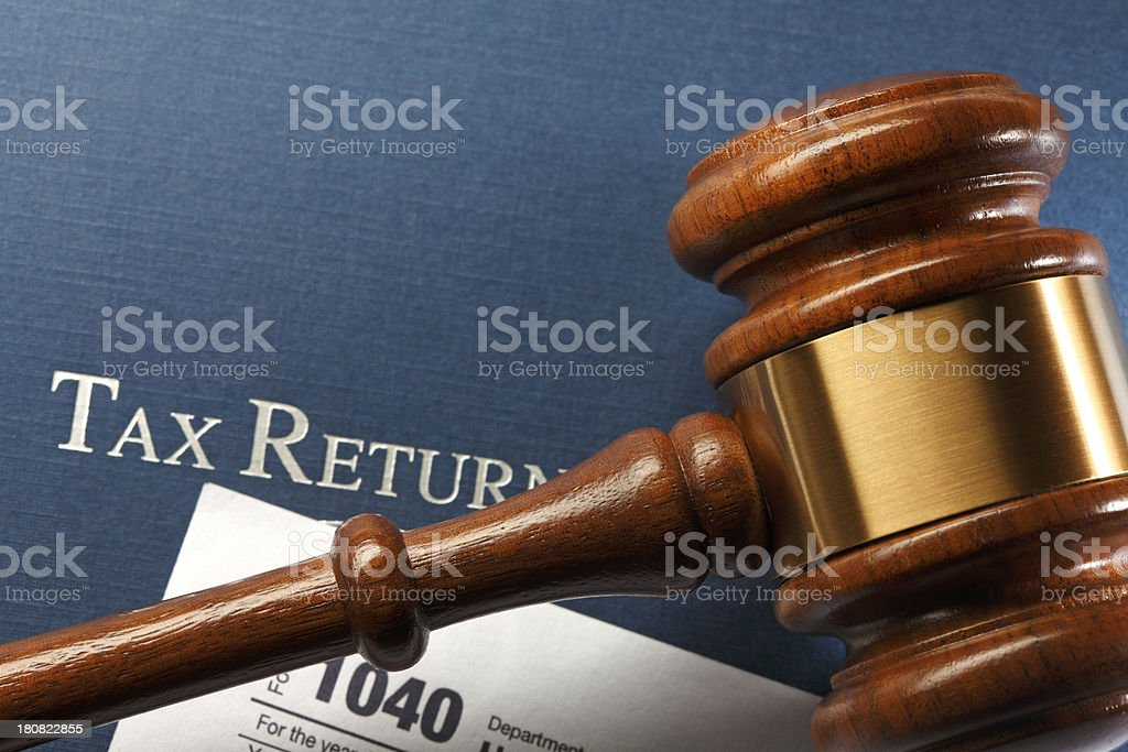 Tax Law royalty-free stock photo