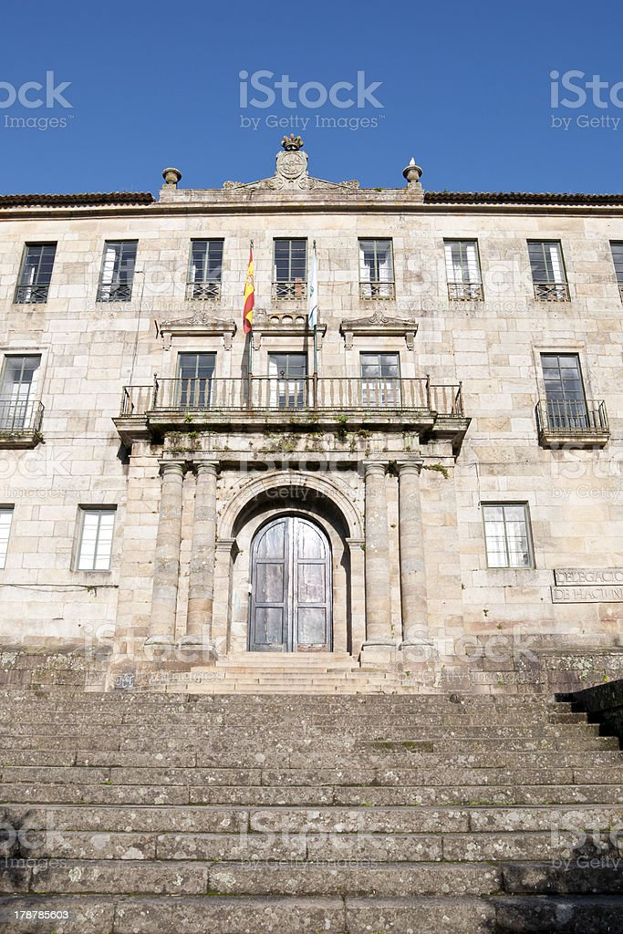 Tax Office of Pontevedra stock photo