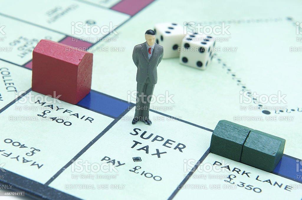 Tax problems stock photo