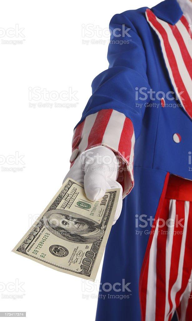 Tax Refund stock photo