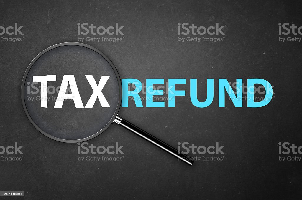 Tax Refund stock photo