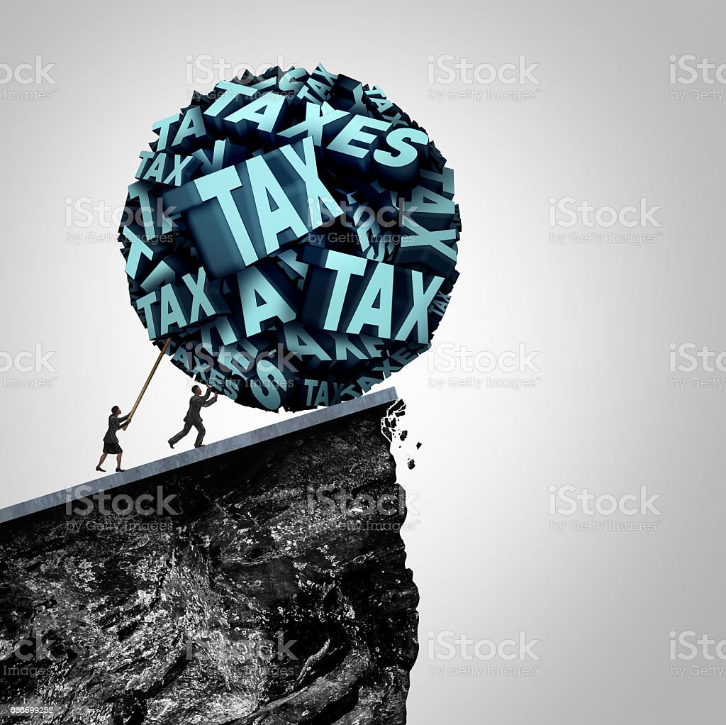 Tax Strategy Concept stock photo