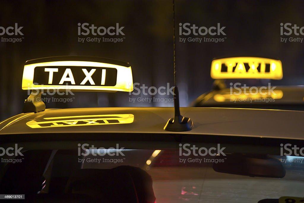Taxen stock photo