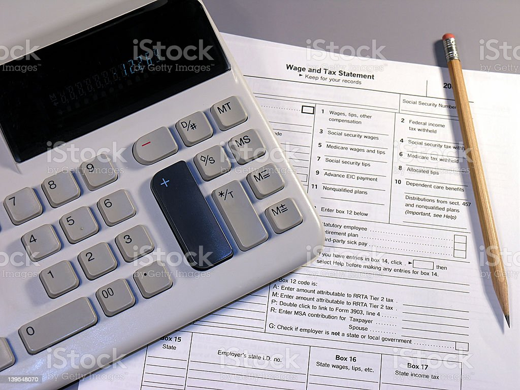 Taxes 1 royalty-free stock photo