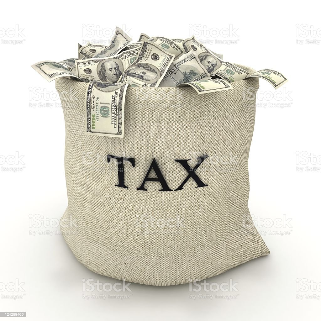 Taxes Payment royalty-free stock photo