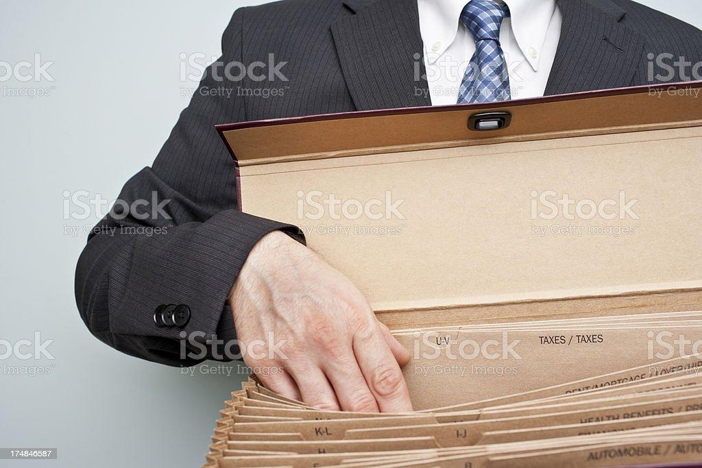 Taxes royalty-free stock photo