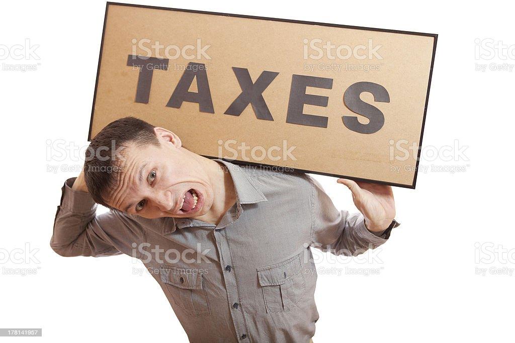 Taxes. royalty-free stock photo