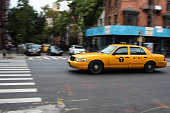 Taxi cab in New York