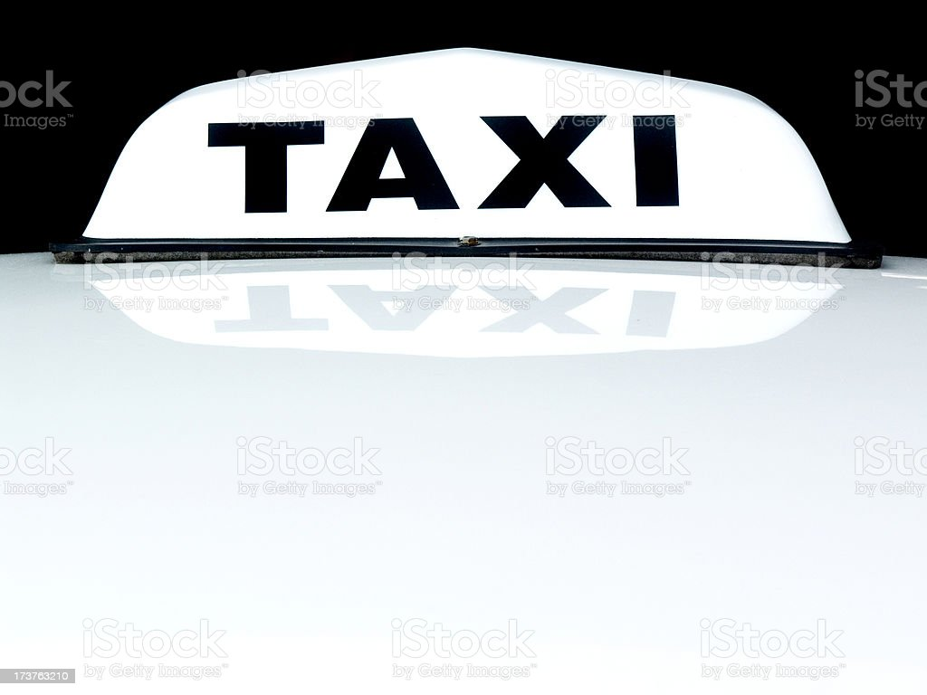 Taxi Cab royalty-free stock photo