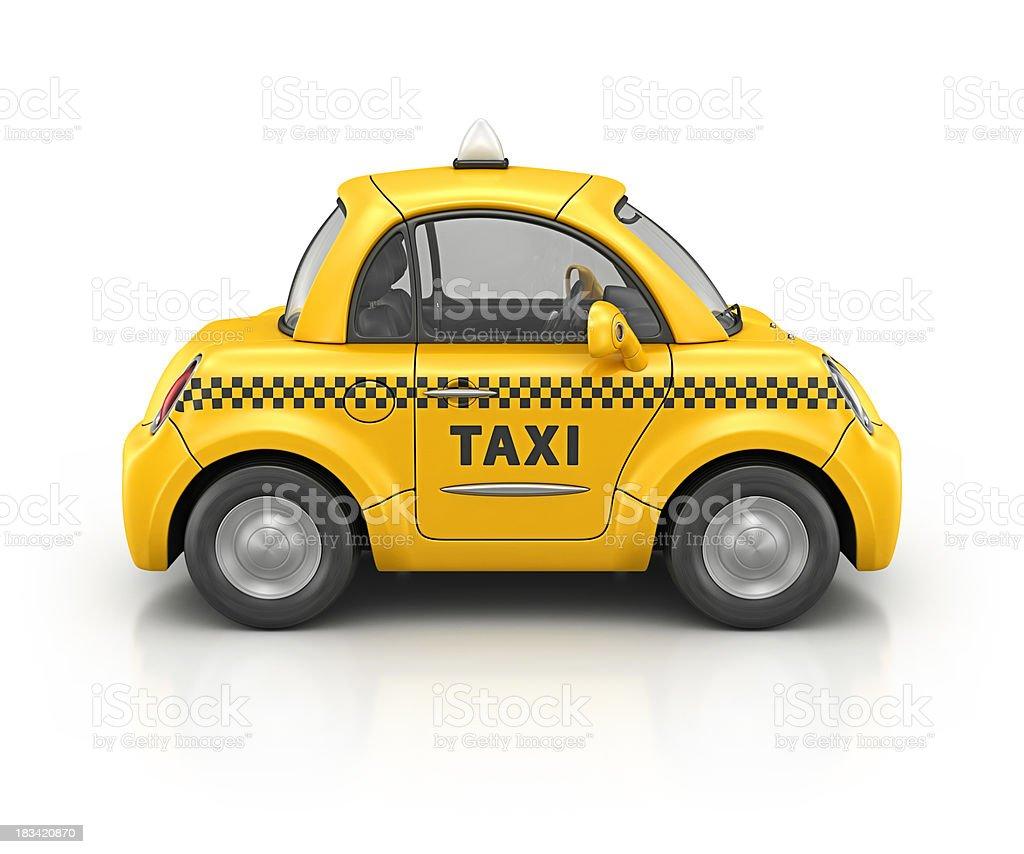 taxi car royalty-free stock photo