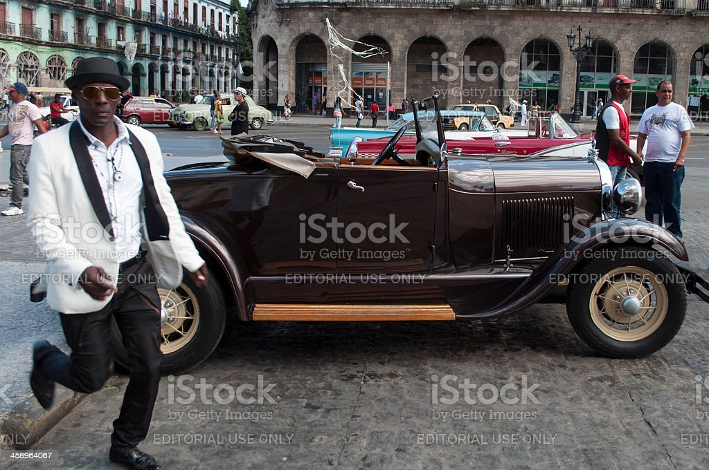 Taxi driver royalty-free stock photo