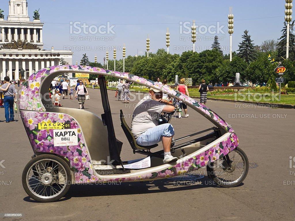 VDNK taxi stock photo