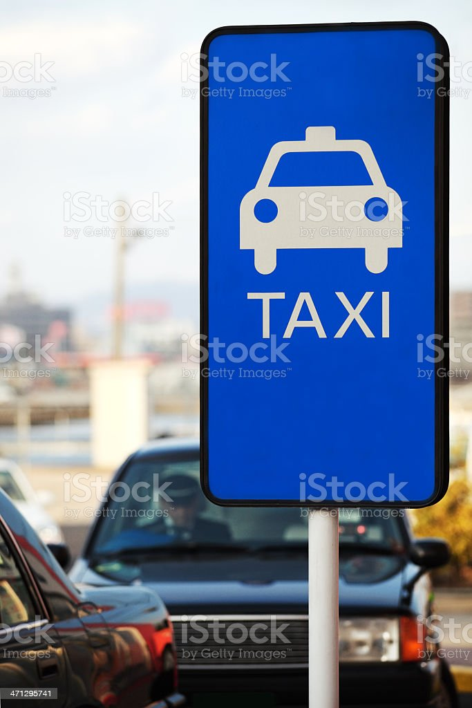 Taxi Lizenzfreies stock-foto