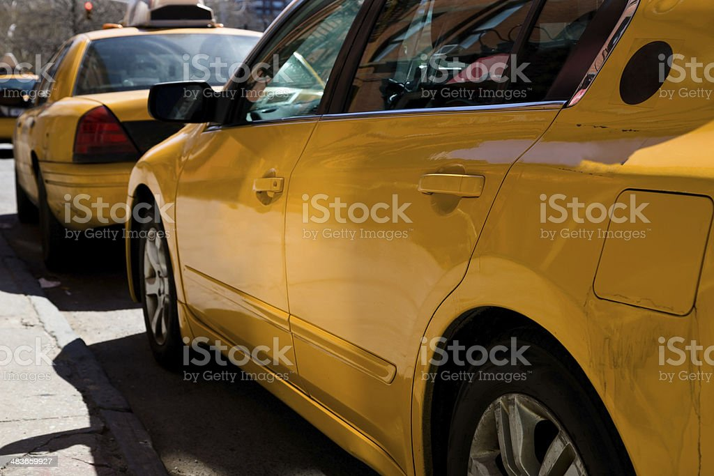 NYC Taxi stock photo