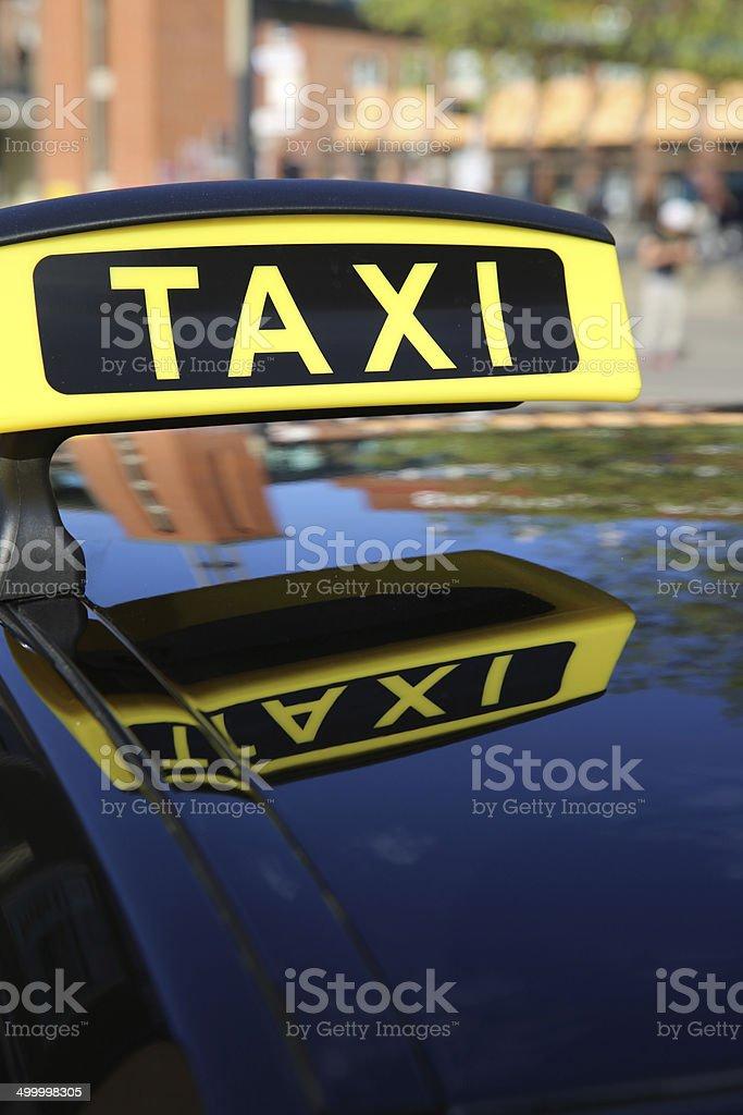 Taxi stock photo