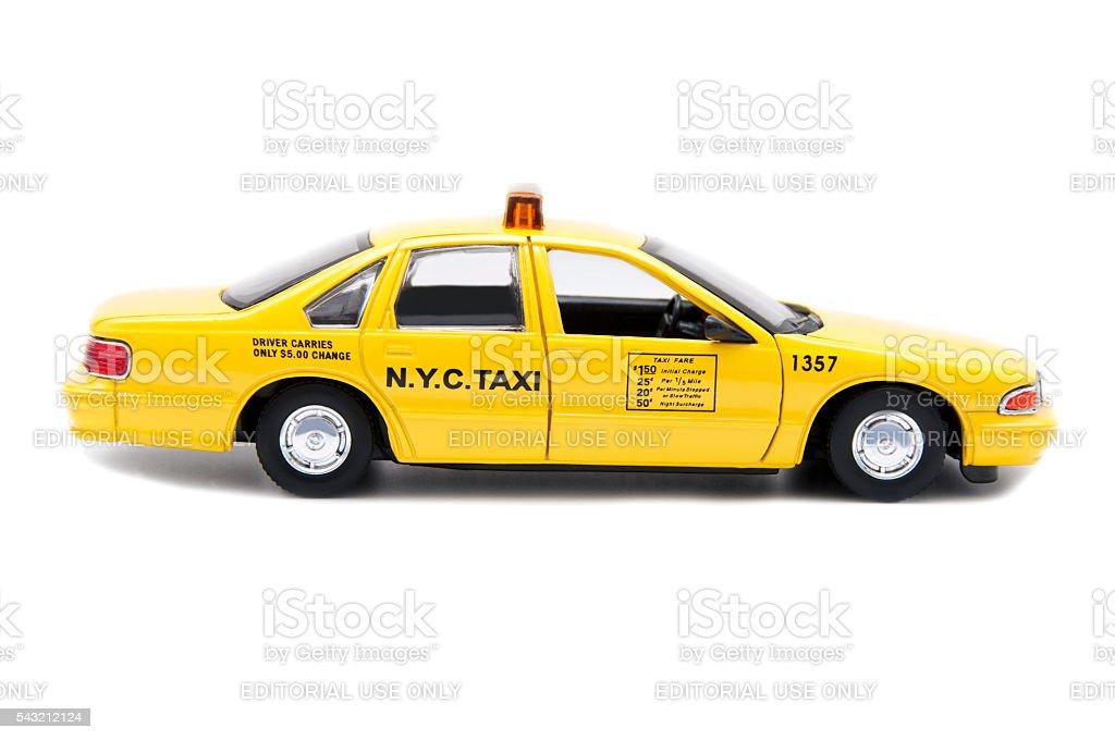 N.Y.C. Taxi stock photo