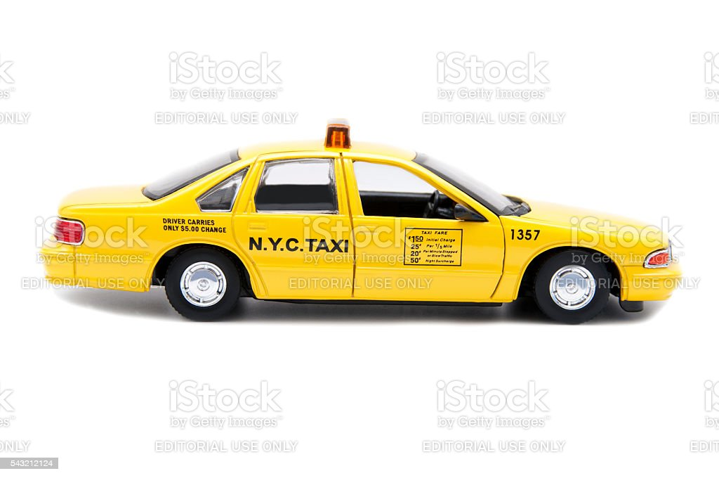 N.Y.C. Taxi stock photo