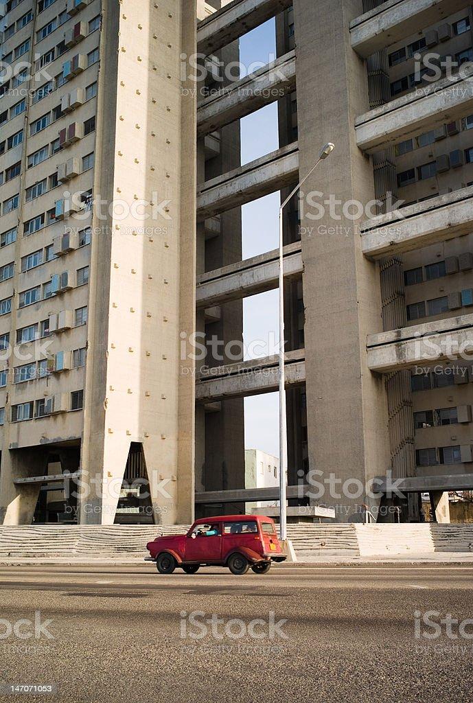 Taxi Service Havana royalty-free stock photo