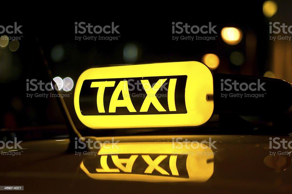Taxibus stock photo
