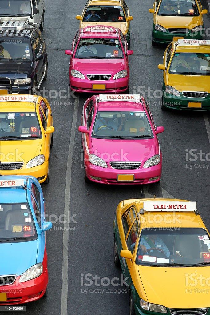 Taxi-Meter stock photo