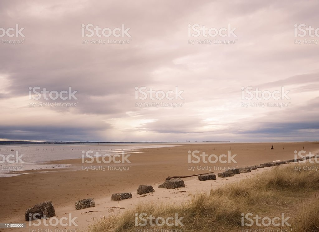 Tay Estuary stock photo