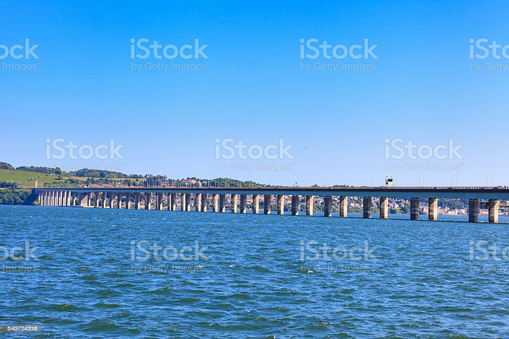 Tay Road Bridge, Dundee, Scotland stock photo