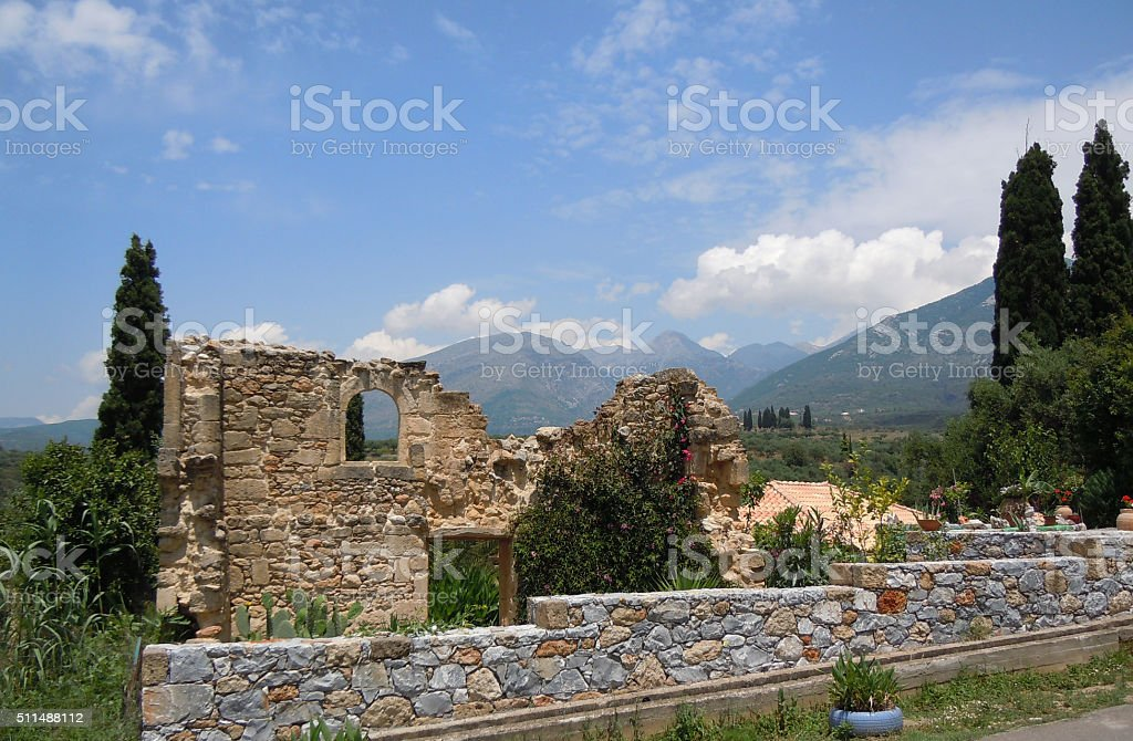 Taygetos Hiking Trails - one of a series @ XpX stock photo