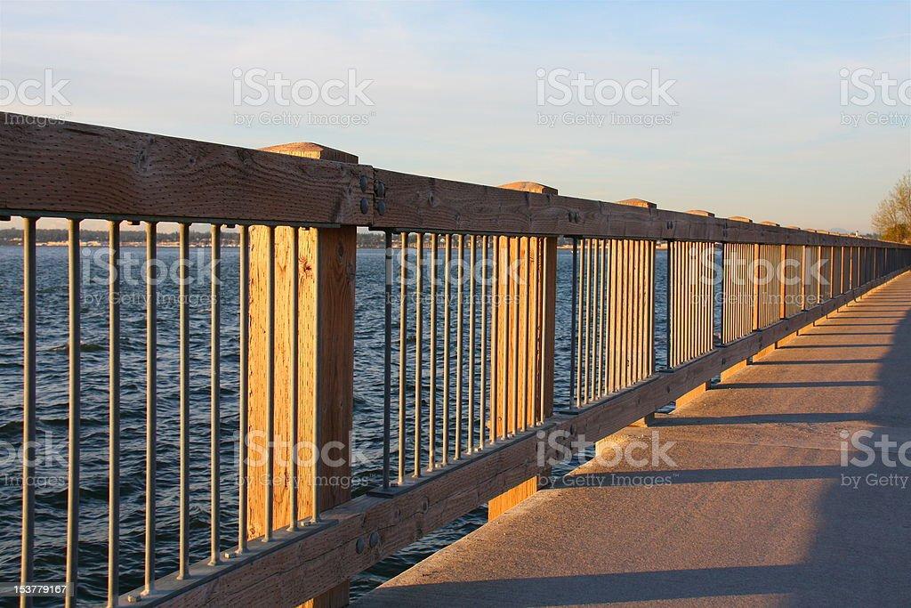Taylor Dock, Bellingham, WA stock photo