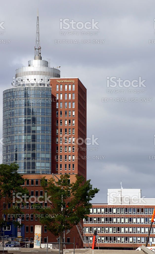 Taylor Wessing building Hamburg stock photo
