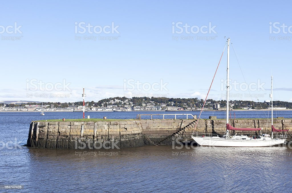 Tayport Harbour royalty-free stock photo