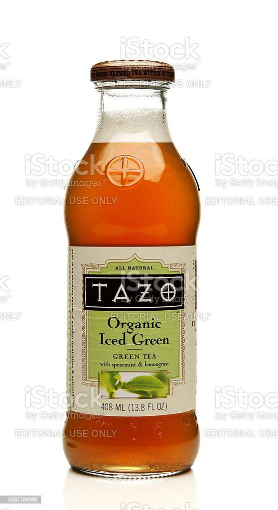Tazo Tea Bottle royalty-free stock photo