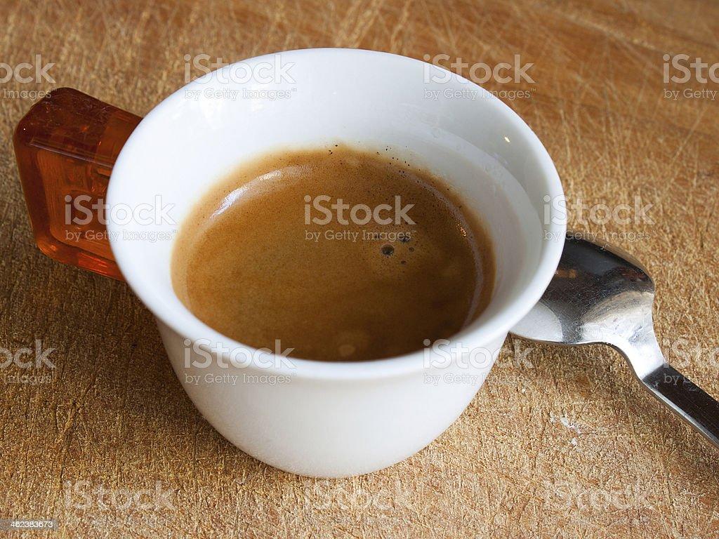 Tazzina di caff? stock photo