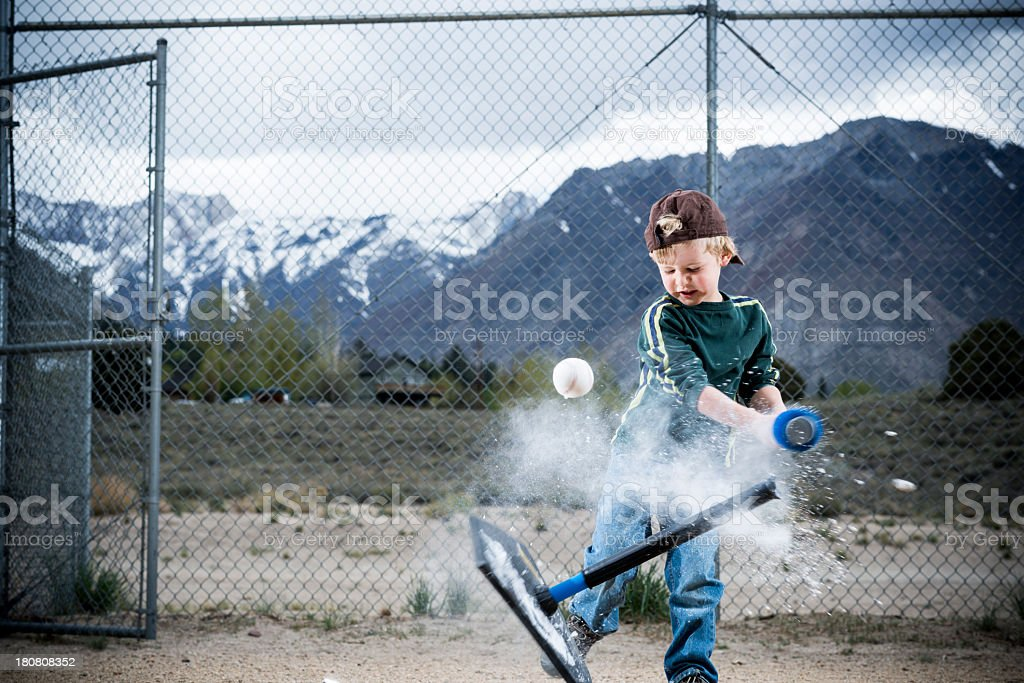 T-Ball stock photo