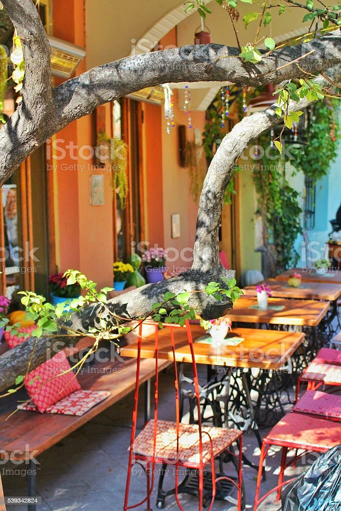 Tbilisi Cafe stock photo
