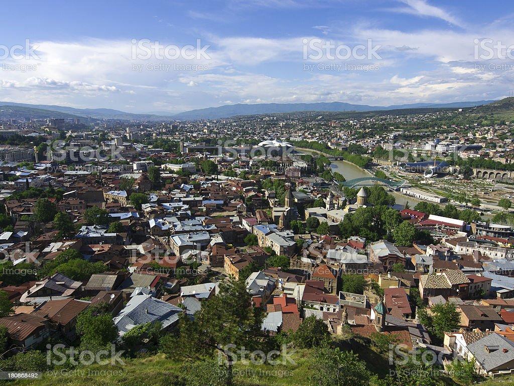 Tbilisi royalty-free stock photo