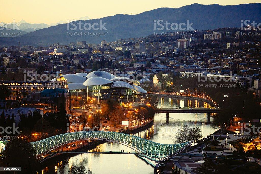 Tbilisi stock photo