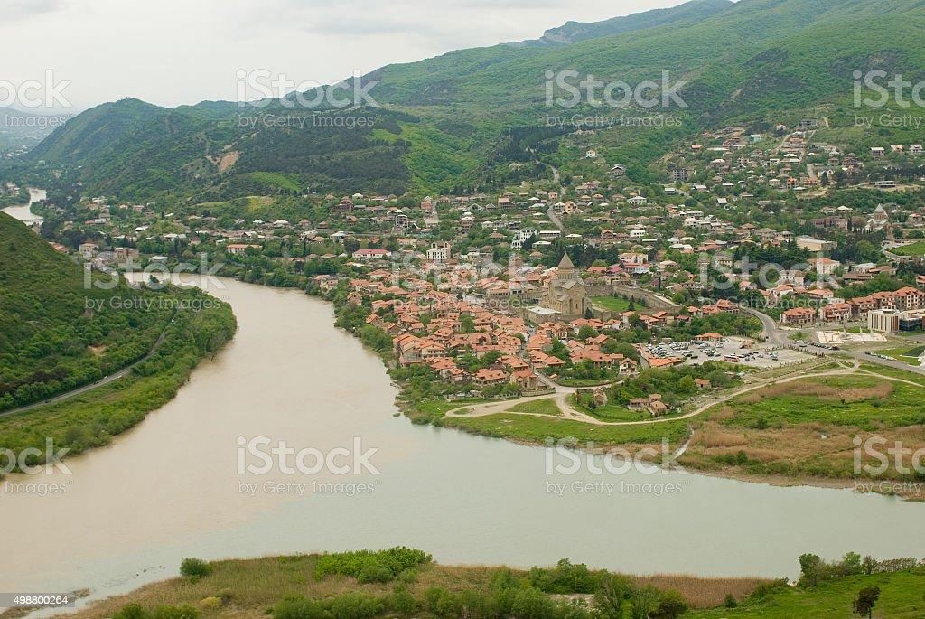 Tbilisi view. Georgia stock photo